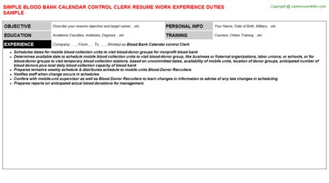 him clerk resumes
