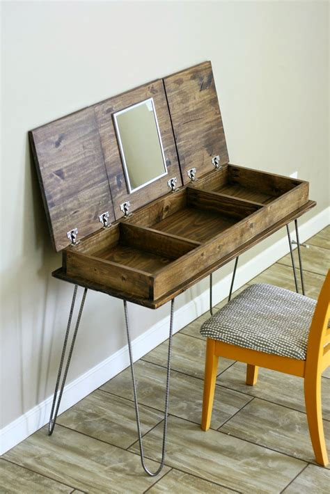 diy vanity table plans diy your dream makeup vanity in 16 affordable ways