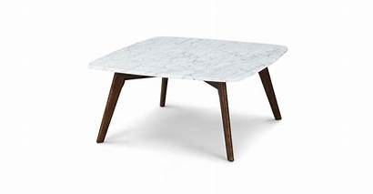 Coffee Square Chiseled Edge Tables Vena Marble