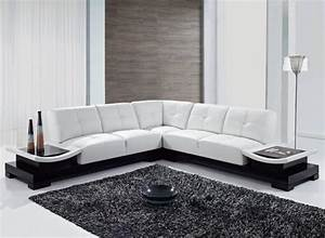 White leather l shaped sofa new 2017 modern l shaped sofa for L shaped sofa decorating ideas