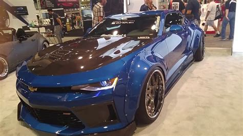 carbon concepts  gen camaro ss sema  youtube