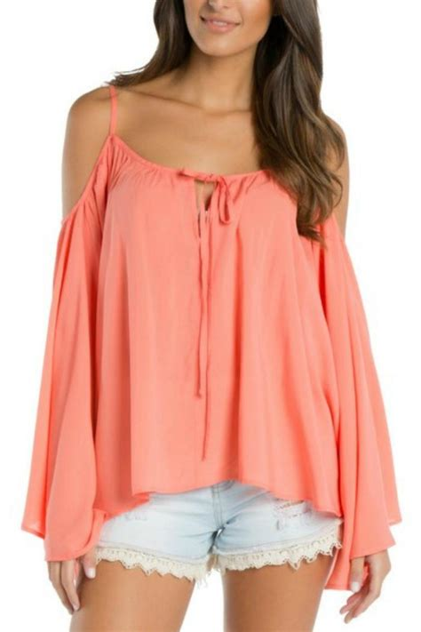 cold shoulder blouses elan cold shoulder blouse from virginia by misguided