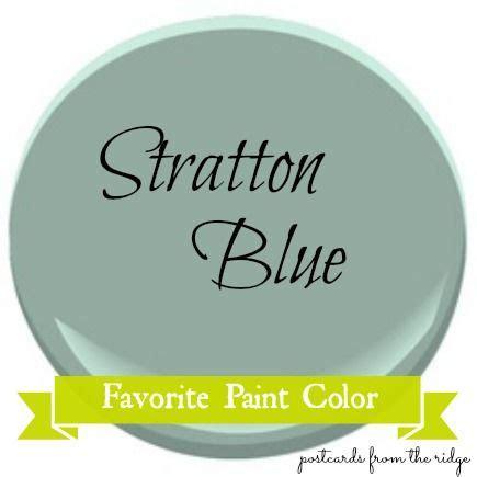 favorite paint color benjamin stratton blue