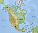 Free Physical Maps of North America – Mapswire.com