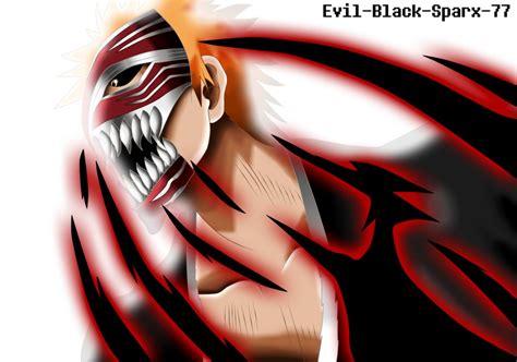 Ichigo Kurosaki Hollowfication By Evil-black