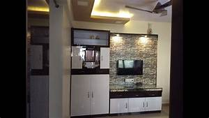 1 bhk home interior design 1 bhk flat low cost youtube With 1 bhk home interior ideas