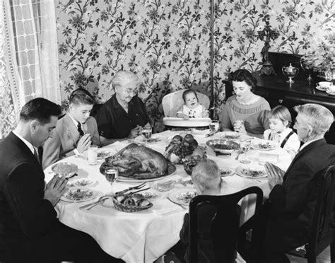 these vintage photos will transport you to thanksgivings