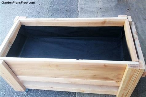 diy large planter bench free garden plans how to build