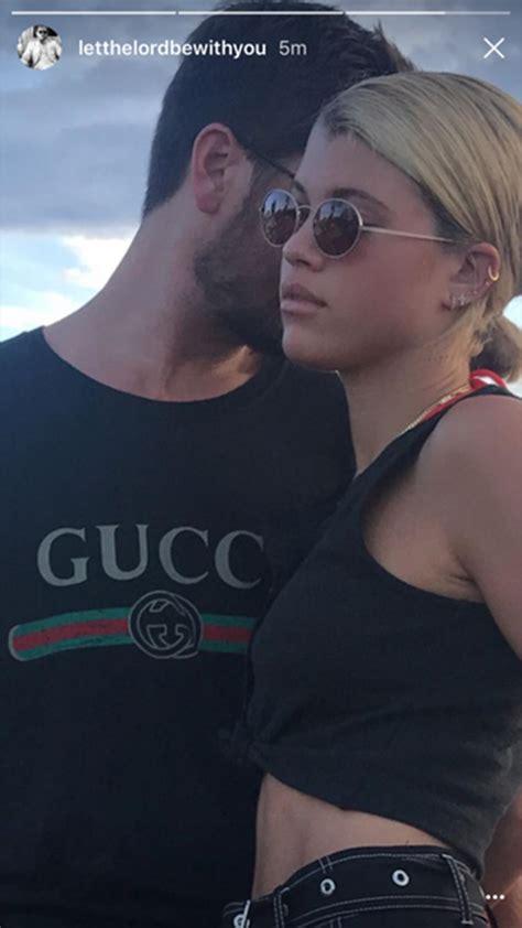 scott disick  confirm  sofia richie dating