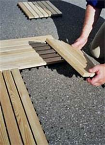 Terrassenfliesen Holz Klicksystem Verlegen : holzfliesen fico besser in holz ~ Michelbontemps.com Haus und Dekorationen