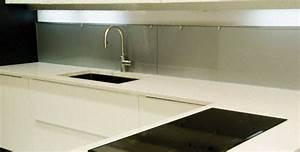 Plan De Travail Céramique : cuisine plan de travail de cuisine moderne clair en quartz ~ Dailycaller-alerts.com Idées de Décoration