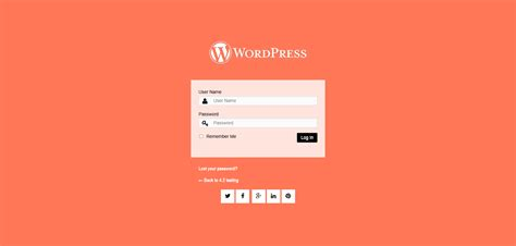 Customize Your Wordpress Login Page