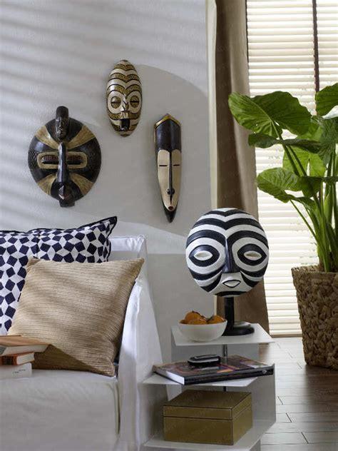 Safari Living Room Decor by D 233 Coration Et Art Africain Design Int 233 Rieur En Motifs