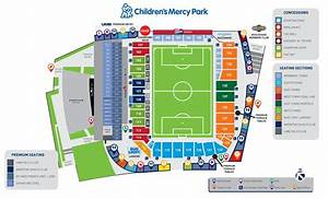 Children's Mercy Park Stadium Map | Sporting Kansas City