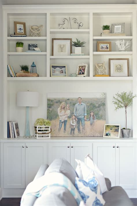 Living Room Shelves Cabinets by Bookshelf Styling Dayme Walther This Look