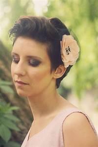 Accessoires Cheveux Courts : accessoires cheveux courts mariage ~ Preciouscoupons.com Idées de Décoration