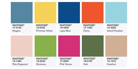 Trendfarben 2017 Mode by Trendfarben Fr 252 Hjahr 2017 Pantone Fashion Color Report