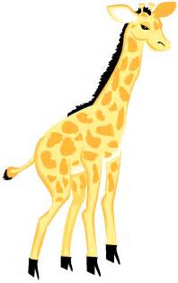 Baby Giraffe Clip Art