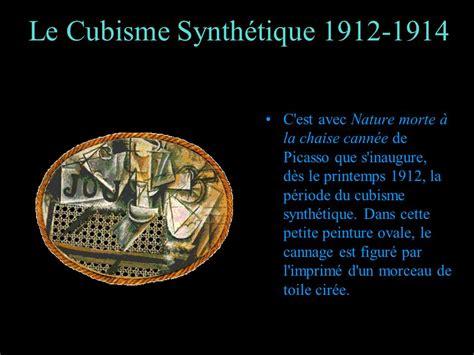 nature morte à la chaise cannée le cubisme ppt télécharger