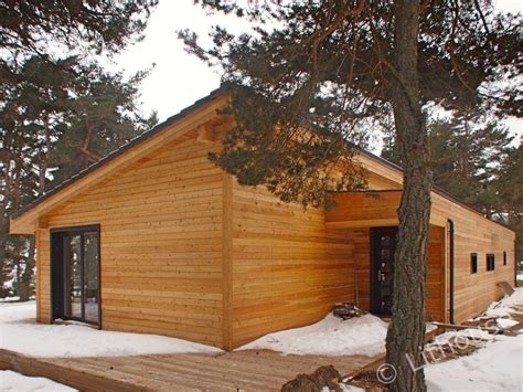 Wooden Houses : Modern, Extremely Well Insulated