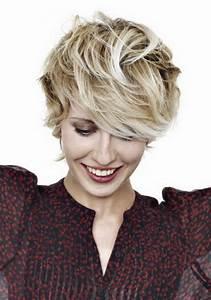 Coiffure Blonde Courte : coiffure courte degradee ~ Melissatoandfro.com Idées de Décoration
