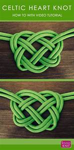How to Make a Celtic Heart Knot | DIY Projects: Jewelry Tutorials | Celtic heart knot, Knots, Celtic