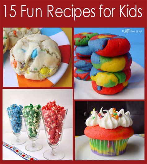 fun recipes  kids