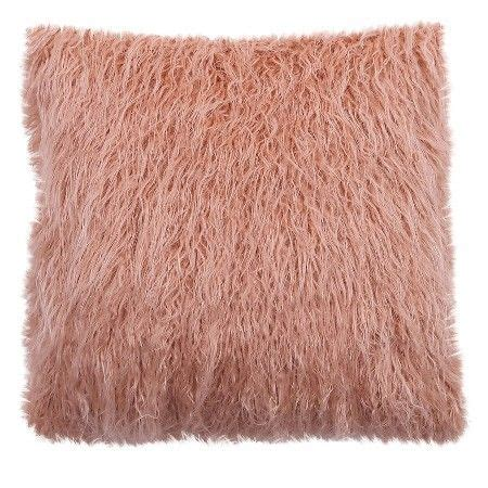 Target Bedroom Throw Pillows by Faux Fur Throw Pillow 18x18 Quot Pink Threshold Target