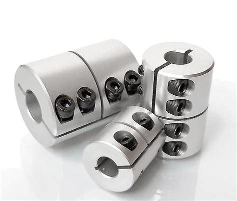 high precision rigid aluminium alloy shaft coupling fruugo uk