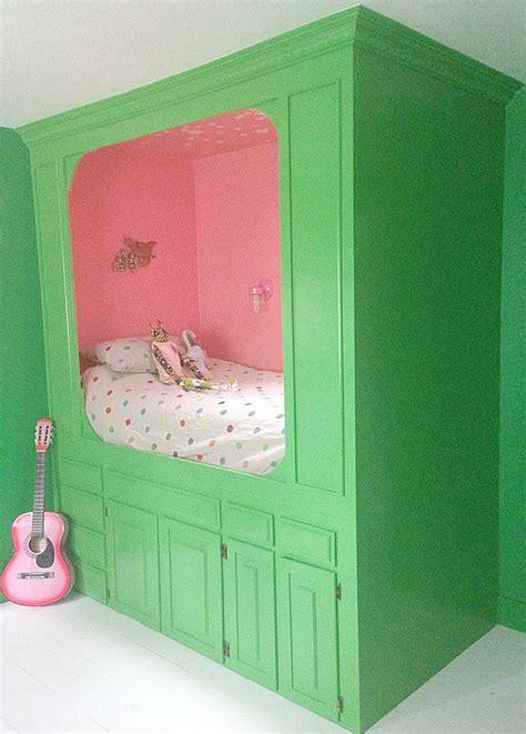kitchen cabinets  built  bed hometalk