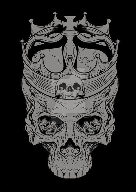 Skull N Crown By Khatibulumam On Deviantart