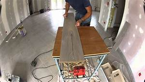 scie sur table fabrication maison youtube With scie sur table maison 2 scie sur table