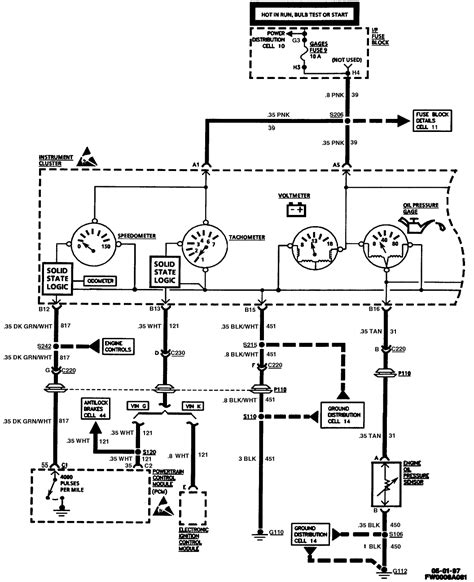 Cluster Wiring Lstech Camaro