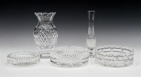 waterford crystal table ls 5 waterford cut crystal table items special italian