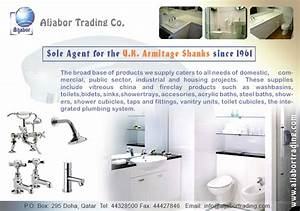Sanitary ware and bathroom fittings suppliers in doha for The bathroom fitting company