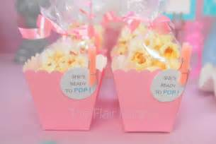 Ready to Pop Popcorn Boxes Baby Shower