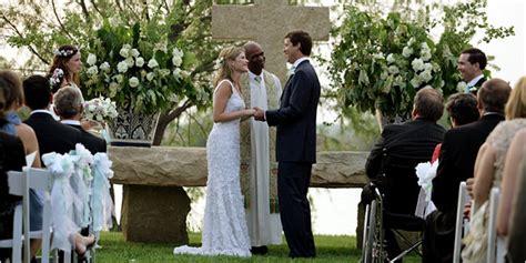 Jenna Bush Has Wedding At Ranch In Crawford  New York Times
