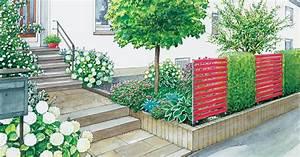Mein Schoener Garten De Ideen : gartenideen f r einen pflegeleichten vorgarten mein sch ner garten ~ Indierocktalk.com Haus und Dekorationen