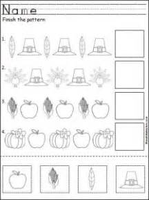 thanksgiving day worksheet for crafts and