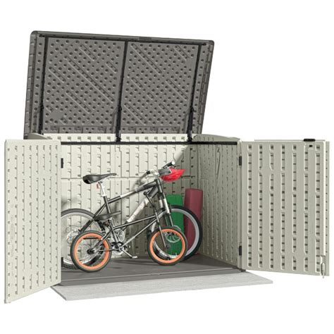 Suncast Bms4700 Outdoor Storage Shed by Suncast Bms4700 Kensington 8 Horizontal Shed 4x6