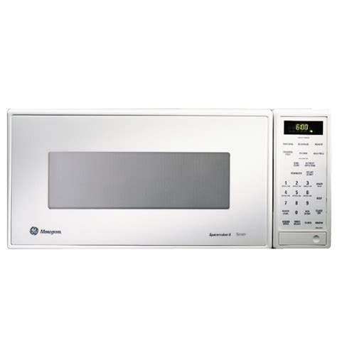 zemwy ge monogram white compact microwave oven