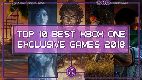 10 Best Upcoming Xbox One Exclusive Games 2018 And Beyond