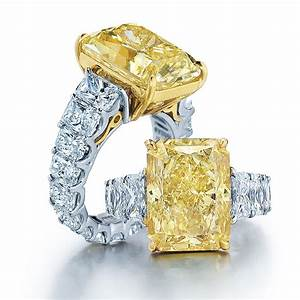 Jb star diamond jewelry at long39s jewelers long39s for Wedding rings with yellow diamonds