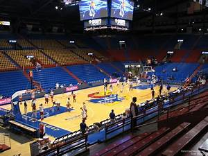 Stanford Basketball Seating Chart Allen Fieldhouse Section 20 Rateyourseats Com