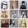 Queen Victoria's children re edit. 1st row: Princess Vicky ...