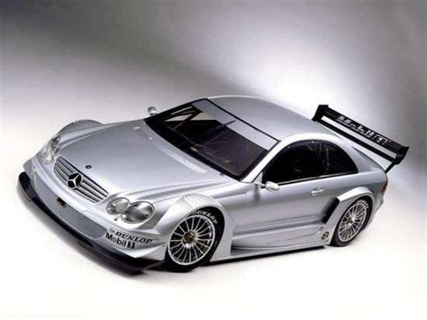 Silver Mercedes-benz Racing Car Picture