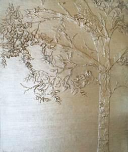 Plaster, Stencil, Arched, Tree, U2013, Walls, Stencils, Plaster, Stencils, Painting, Stencils, Plaster, Molds