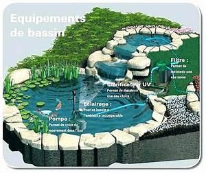 Fontaine Pour Bassin A Poisson : fontaine bassin poisson akoi ~ Voncanada.com Idées de Décoration