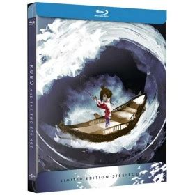Kubo and the Two Strings (Blu-ray) (Limited Steelbook ...