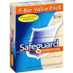 Safeguard Bar Soap Antibacterial Beige 8 Bars